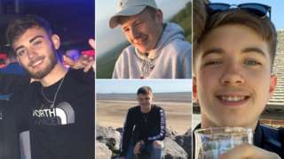 Corey Owen, Jordan Rawlings, Ryan Nelson, Matthew Parke
