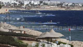 A beach resort in the Red Sea town of Sharm el-Sheikh - generic image