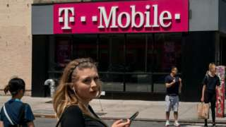T-Mobile shop in New York
