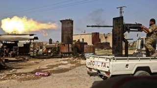 столкновения происходят на севере Сирии
