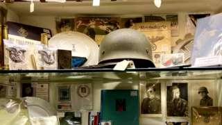 Nazi merchandise at the Lyndhurst Antiques Centre