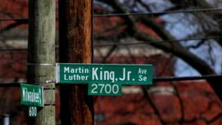 Martin Luther King Avenue in Virginia
