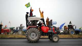 The farmers are demanding the repeal of three market-friendly farm laws
