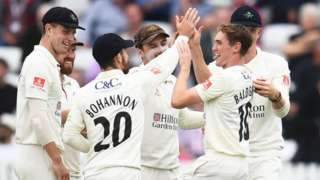 Lancashire claimed only their fifth Championship win of the season - and their first since the split