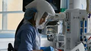 Intensive care unit in Carmarthen