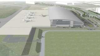 Farnborough aircraft service centre