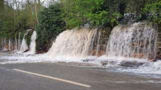 Water on Bullbridge Hill
