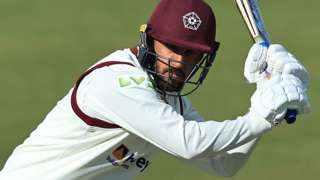 Saif Zaib hit his maiden first-class century for Northants against Sussex in May