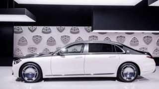 Xe Maybach bán được rất tốt ở thị trường Trung Quốc dù giá thấp nhất là 170 nghìn USD một chiếc