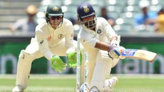 Tim Paine and Ajinkya Rahane