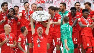 'Yan wasan tawagar Bayern Munich