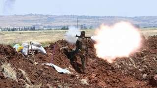 солдат армии Асада