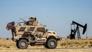 Suriye'nin kuzey doğusunda birkaç yüz ABD askeri bulunuyor