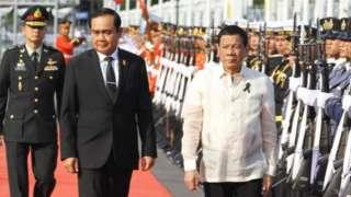 Thái Lan và Philippines cũng hứng chịu một số chỉ trích về hồ sơ nhân quyền của hai nước này..