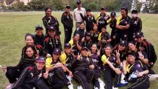 SCC Divas squad