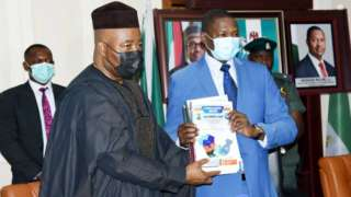 NDDC forensic audit Report: President Muhammadu Buhari dey frown - See wetin e contain