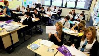 school classroom in glasgow