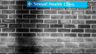 Sexual Health Clinic sign