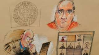 Saab duruşmaya turuncu hapishane tulumu içerisinde telekonferans yöntemiyle bağlandı