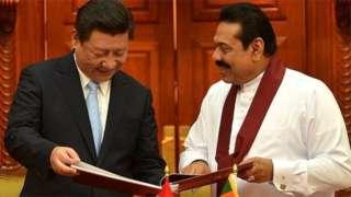 سری لنکا، چین