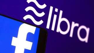 Logo de Libra, la criptomoneda de Facebook.