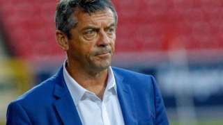 Phil Brown watches on