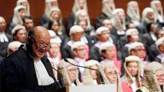 香港法律界担心司法独立受损。