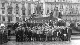 Child Holocaust Survivors in Prague