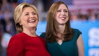 Hillary ve Chelsea Clinton