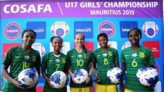 Les Sud-Africaines Nabeelah Galant, Tiffany Kortjie, Jessica Wade, Oyisa Marhasi et Sonika Mzingeli ont marqué au moins trois buts chacune.
