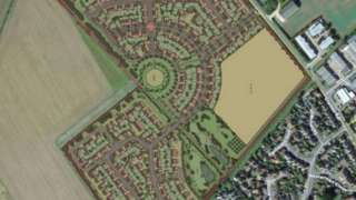 Plans for homes near Sawtry
