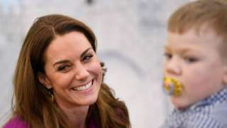 Duchess of Cambridge visits The Nook in Norfolk