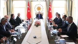 Erdoğan ve Haniye, 22 Ağustos'ta İstanbul'da bir araya geldi.