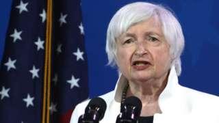 US Secretary of the Treasury Janet Yellen