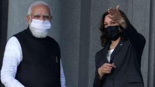 Modi and Harris