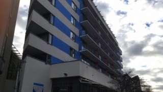 Waverley flats in Bristol