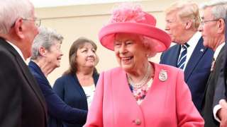 The Queen at the D-Day commemorations
