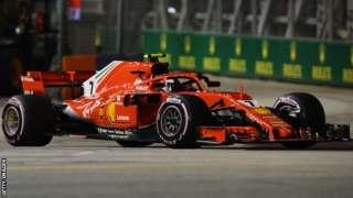 Ferrari's Kimi Raikonnen