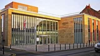 Cumbria County Council's headquarters