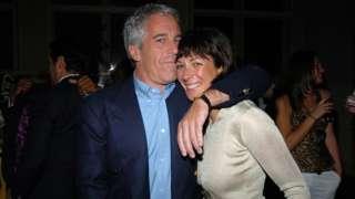 Jeffrey Epstein and Ghislaine Maxwell in New York in 2005