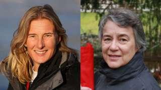 Sarah Winckless and Judith Packer