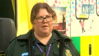 Paramedic practitioner Pip Griffin