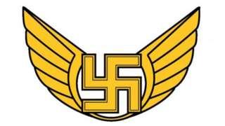 El viejo emblema del Comando de la Fuerza Aérea de Finlandia (FAF)