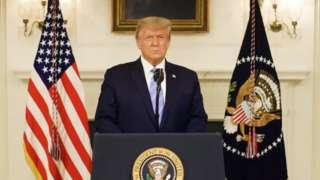 탄핵이 재거론되고 있는 트럼프 대통령