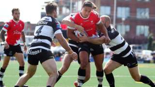 Defeat for Widnes in Ontario was their fifth in six games in The Qualifiers