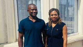 Julie and Chika Nwosu