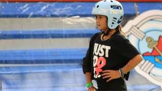 Sky Brown Skateboarder