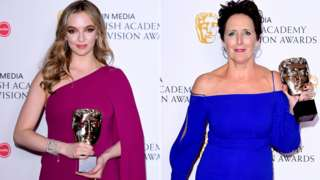Jodie Comer and Fiona Shaw