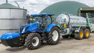 T6.180 Methane Powered tractor