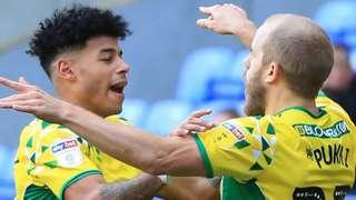 Norwich celebrate.